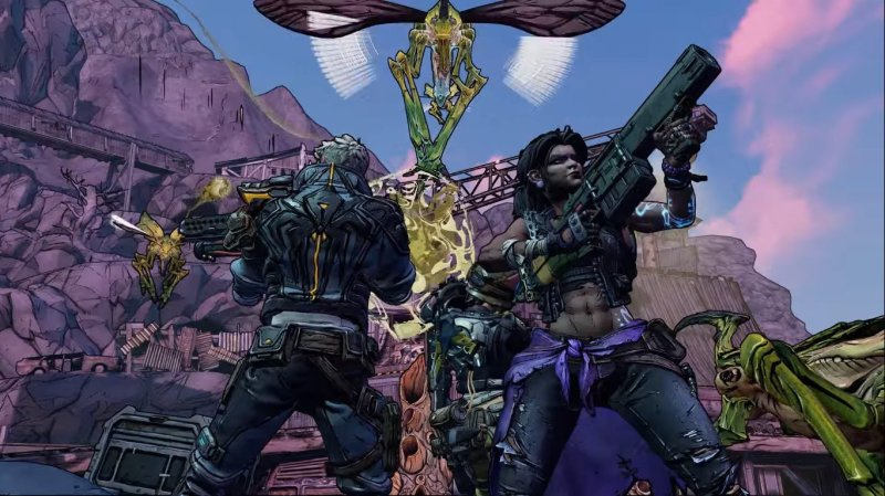 Borderlands 3 runs at 4K resolution on Xbox One X