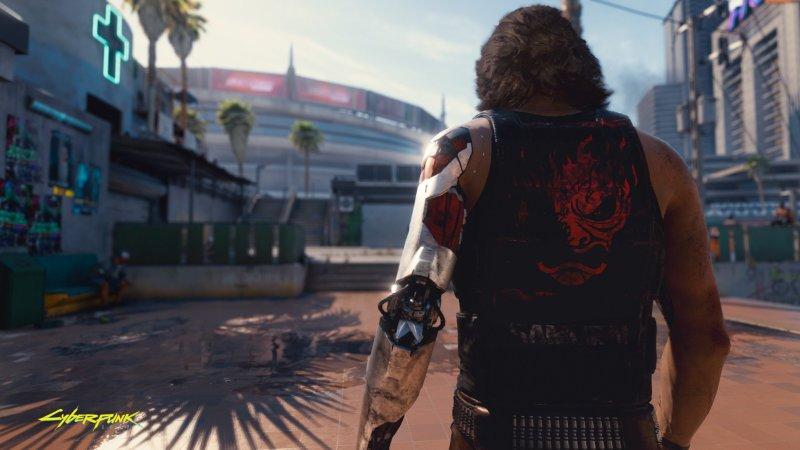 Johnny Silverhand in Cyberpunk 2077