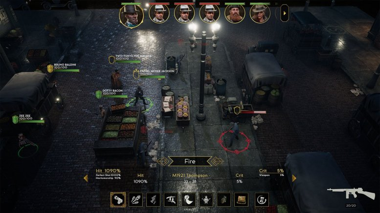 XCOM-like 'Empire of Sin' gets new gameplay trailer at