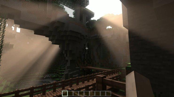 Minecraft RTX Screenshot On