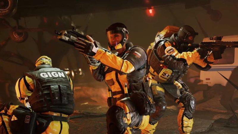 Rainbow Six Siege Outbreak Operators