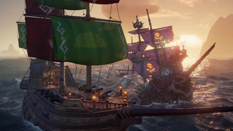 Sea Of Thieves Skeleton Ship Battle