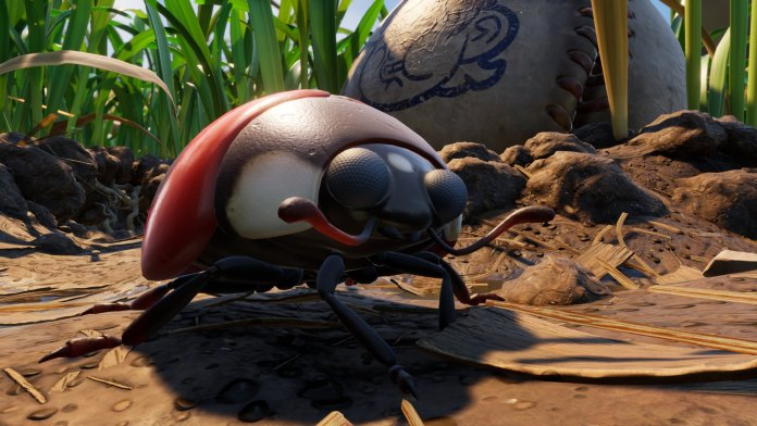 Grounded Screenshot Ladybug