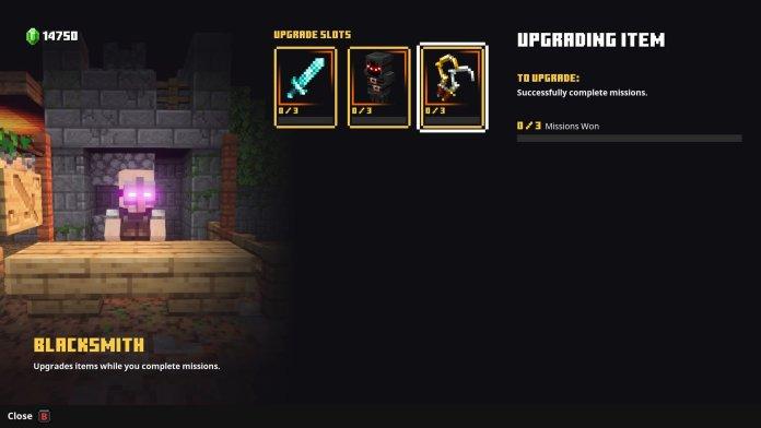 Minecraft Dungeons Blacksmith