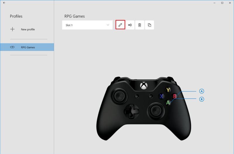 Change Xbox Button Remap Settings