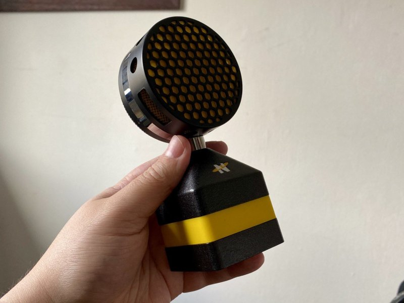 Neat Worker Bee Microphone Image