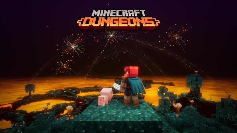 Minecraft Dungeons Flames Of The Nether Dlc Celebration