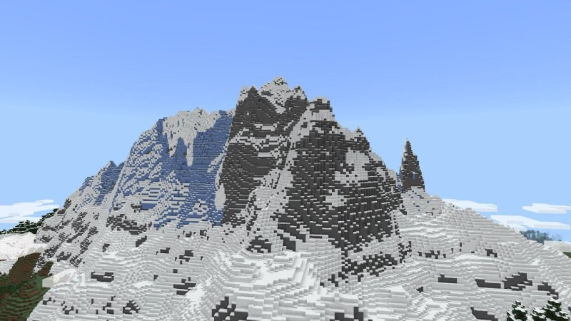 Minecraft Caves And Cliffs Update Mountain Image