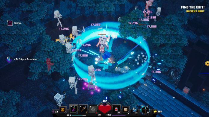 Minecraft Dungeons Explosion