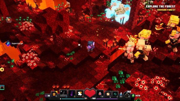 Minecraft Dungeons Nether Zone