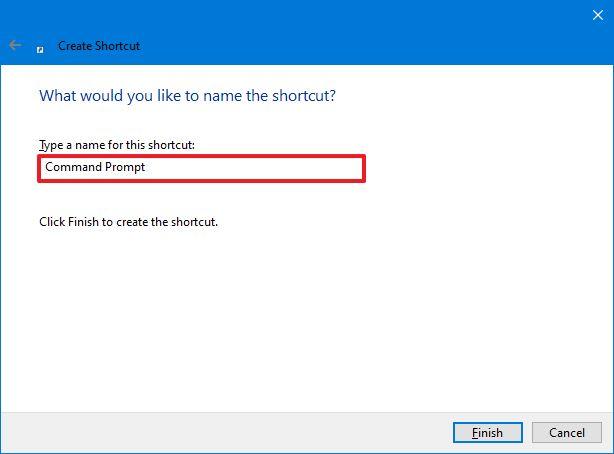 Shortcut Name Cmd