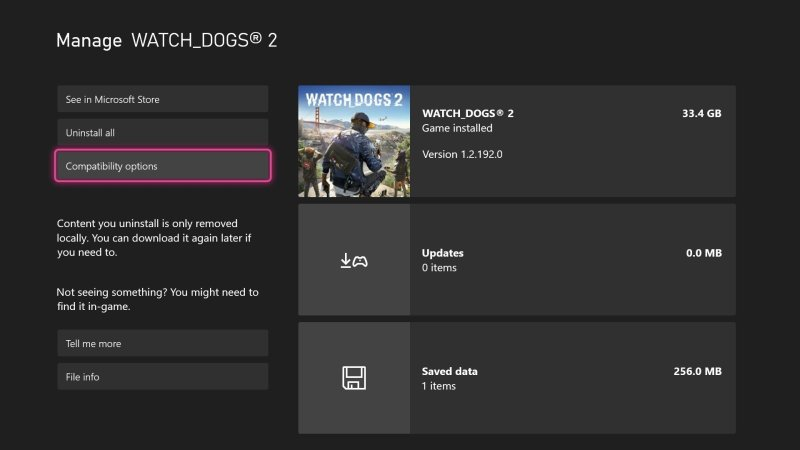 Disable Xbox FPS Boost