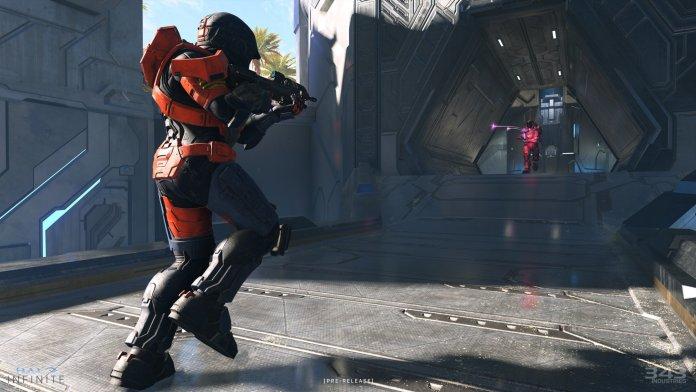 Halo Infinite Behemoth Combat