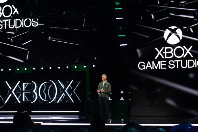 Xbox Game Studios Matt Booty at E3 2019