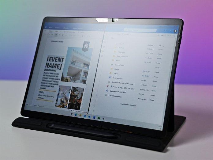 Windows 10x Mock Prox Split