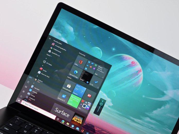 Surface Laptop 4 Amd 2021 Display