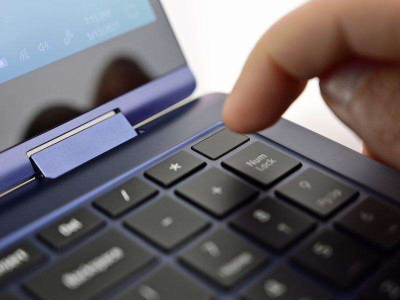 Samsung Galaxy Book Pro 360 Fingerprint Reader