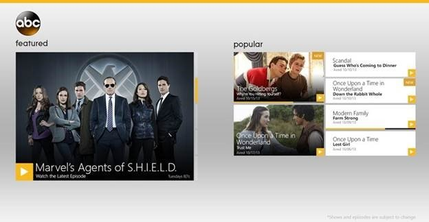 Want To Watch ABC Programming On Your Windows 8 Device