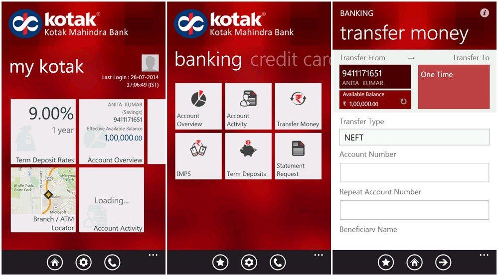 Kotak Mahindra Personal Banking