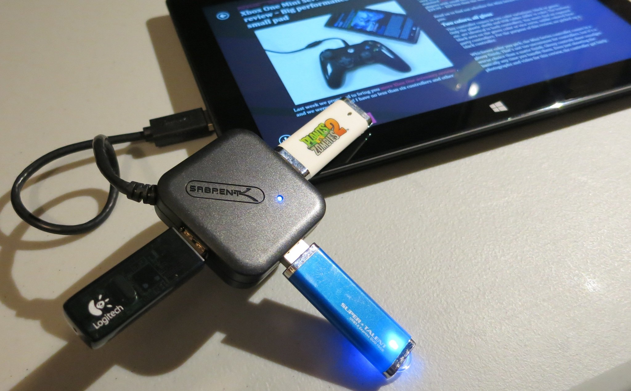 Sabrent USB 30 Hub Review Plug More Devices Into Your