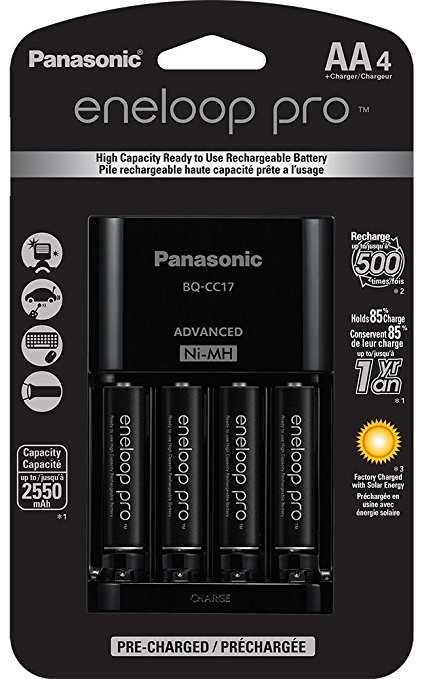 Panasonic Eneloop Pro Charger and Batteries