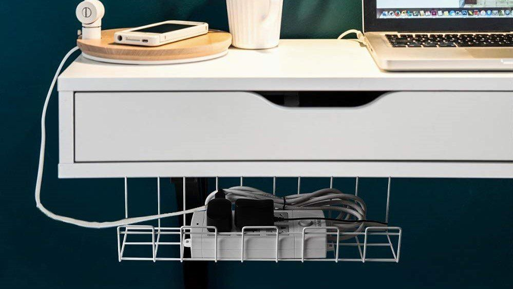 best under desk wire trays for your