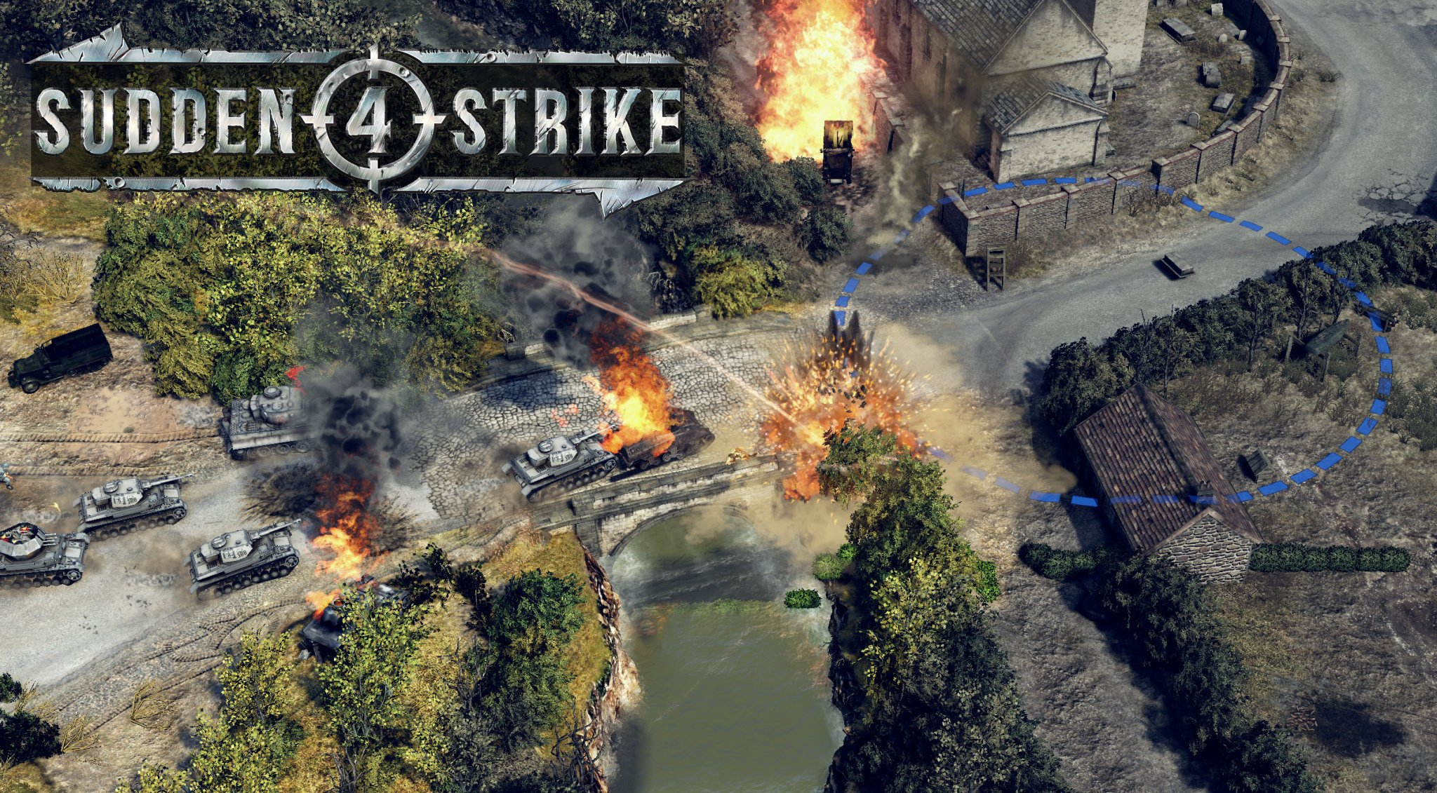Beloved WWII Strategy Series Sudden Strike Is Coming Back