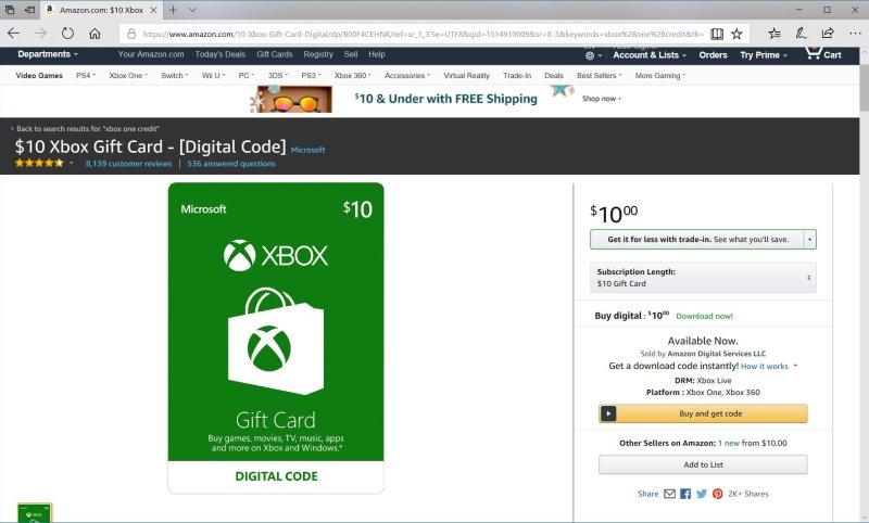 microsoft gift card free codes
