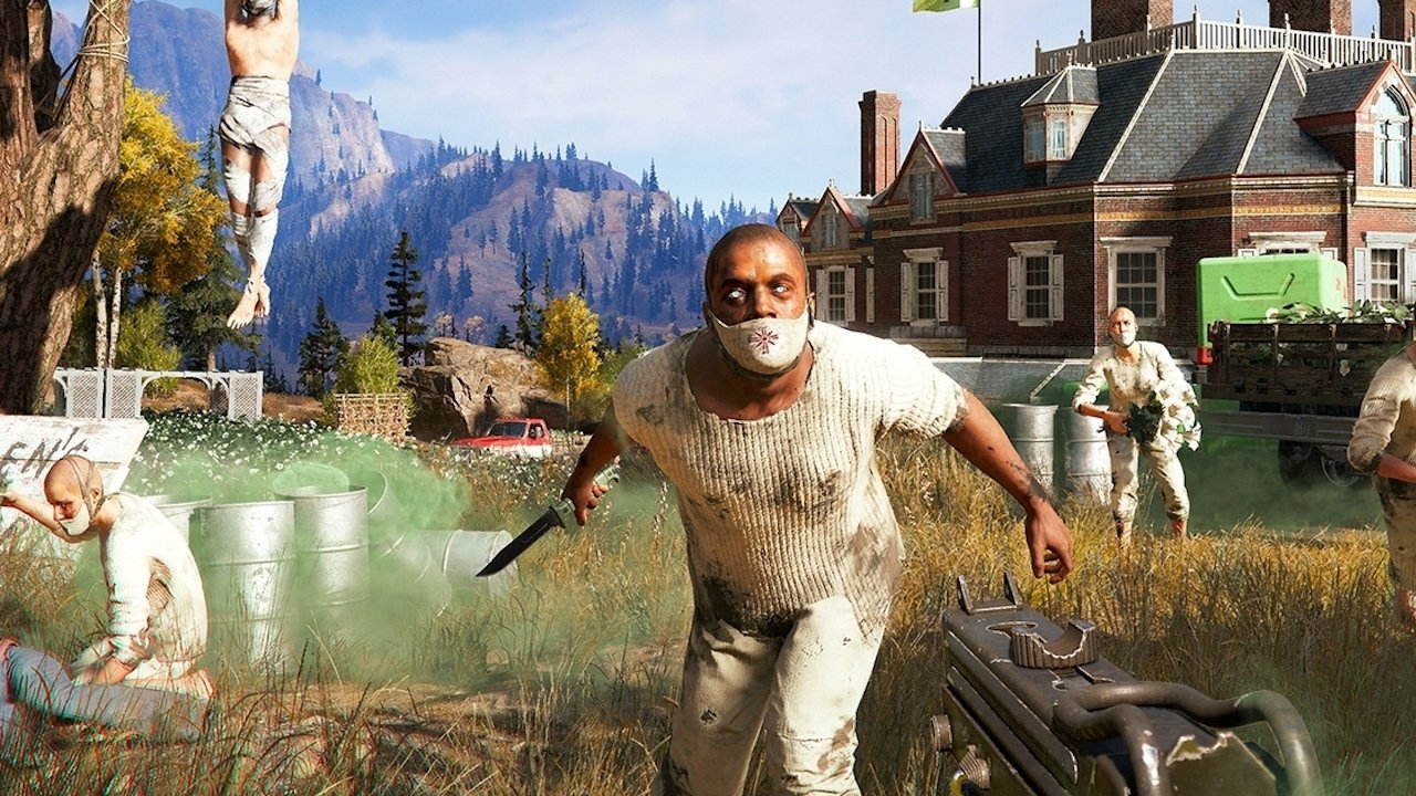 Far Cry 5 breaks franchise s sales records   Windows Central Far Cry 5 breaks franchise s sales records