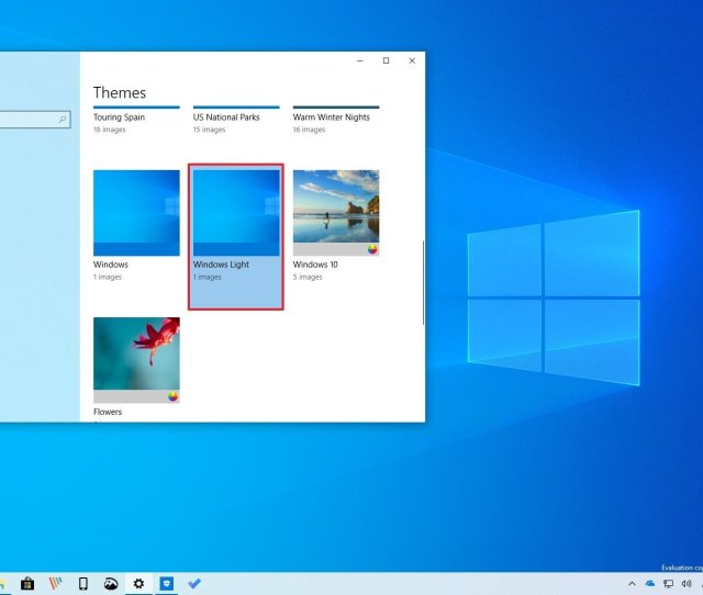 On Settings Personalization The Themes Page Isnt Gaining New Settings But Youll Find A New Windows Light Theme That Introduces A New Default