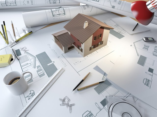 Blue Print for planning permission