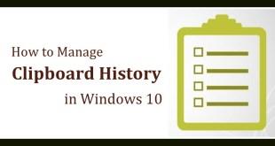Windows 10 Clipboard History   Windows 10 Clipboard   Clipboard History