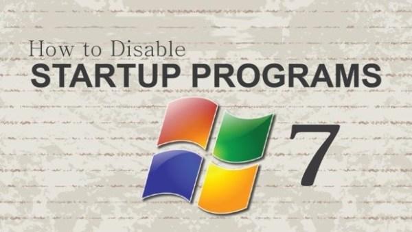 how to disable startup programs windows 7 | Windows 7 | Startup Programs