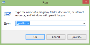 how to open local group policy editor windows 10