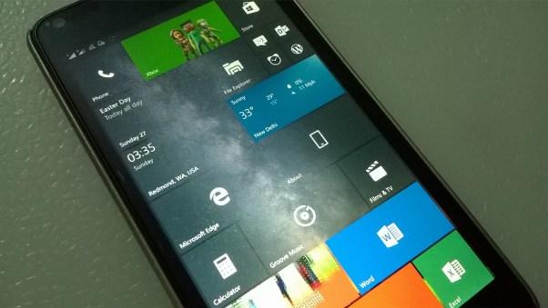 Windows 10 Mobile Build 14295