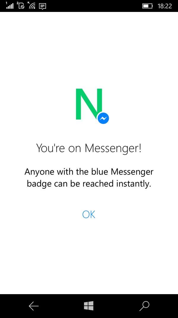 facebook messenger app for windows 10