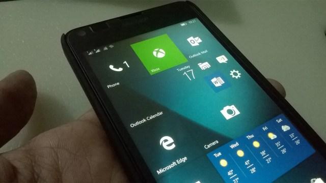 Windows 10 Mobile Build 14352