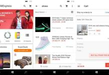 AliExpress for Windows 10