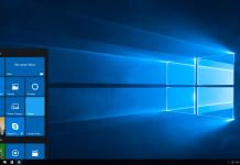 Windows 10 Start Sceen
