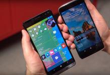 Alcatel Idol 4 Pro with Windows 10 Mobile