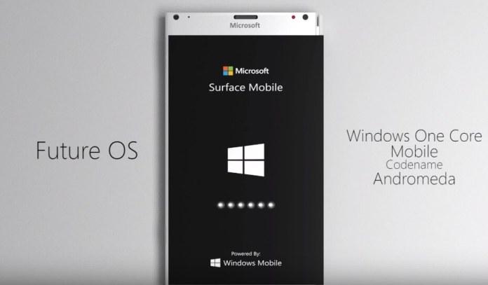 Surface Phone OS