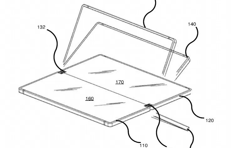 Microsoft Patent Hints At Plans For Possible Foldable Smartphone
