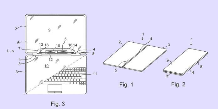 surface phone patented