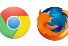 Chrome and Firefox
