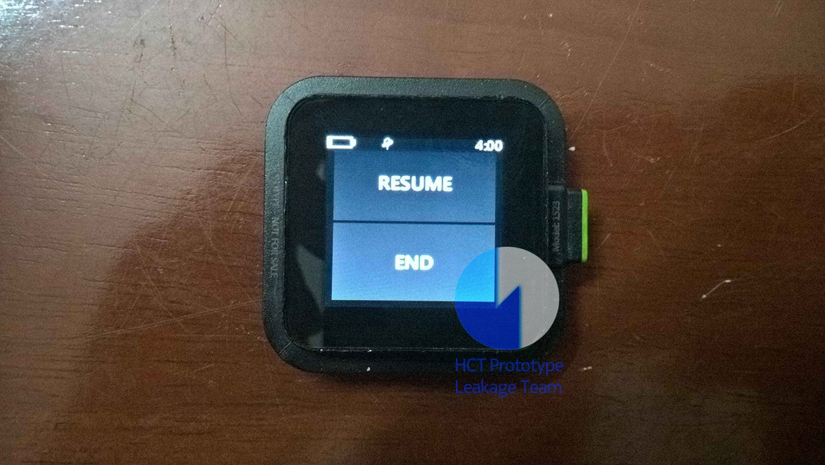 Real life images of Microsoft Xbox Watch leaks online