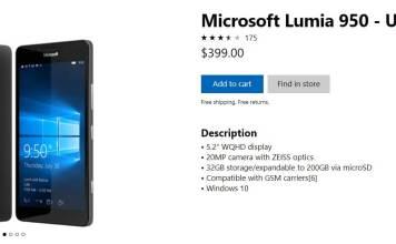 Microsoft Lumia at Store