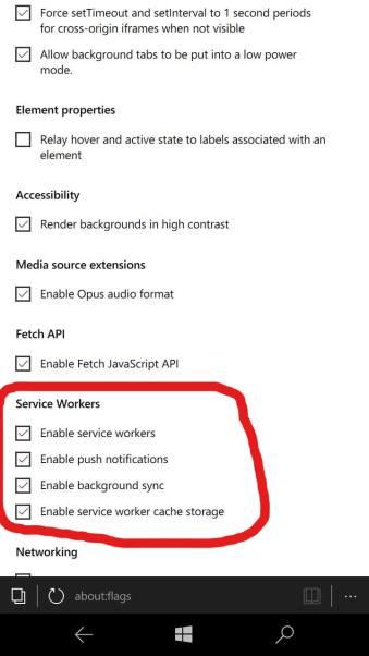 Www Bing Comgo To Www Bing Commail At Abc Microsoft Com1 Microsoft Way Redmond Wa: Simple Trick To Enable Microsoft Edge PWA Service Workers