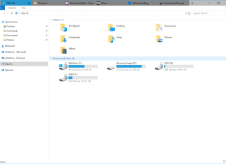 sets feature in file explorer