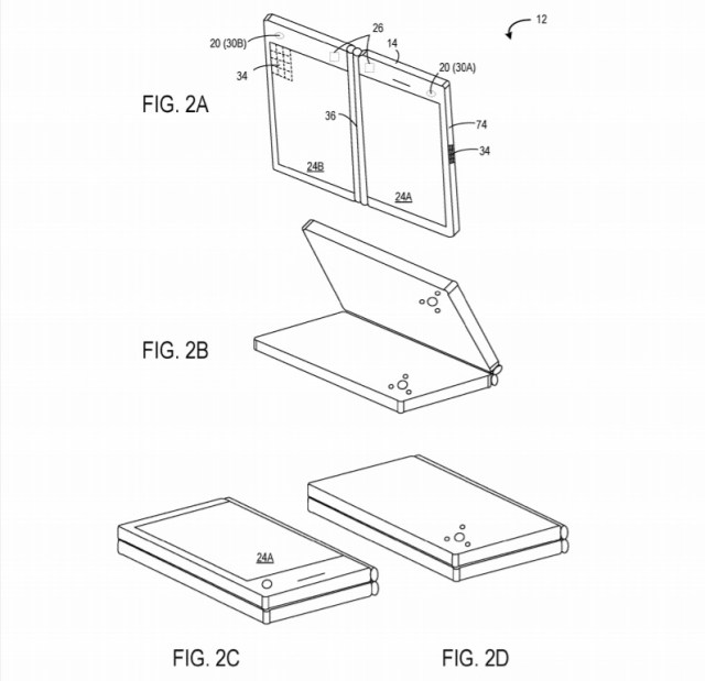 Mobile computing device patent