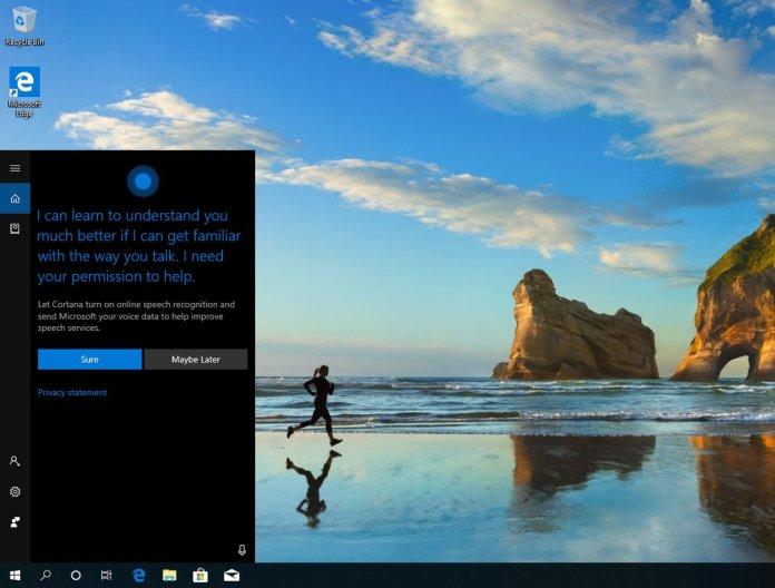 Cortana in 19H1
